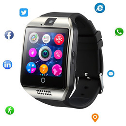 Bluetooth Smart Watch Sim Australia - Smart Watch with Camera Bluetooth Smartwatch with Sim Card Slot Fitness Activity Tracker Monitor Sport Watch for Android Smartphones