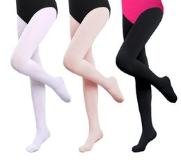 94ade9348 Women Girls Adults Seamless Ballet Pantyhose Ballet Tights Microfiber Dance  Stockings Exercise Clothes Ballet Leggings with Foot 80D 90D D