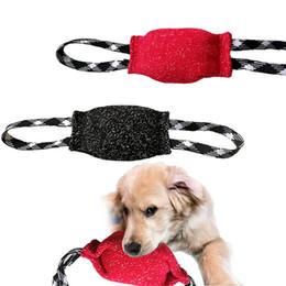 $enCountryForm.capitalKeyWord UK - Dog Chew Toy Large Dogs Bite Trainning Tugs Pillow Nylon Rope Handle Pet Chewing Ball Toys