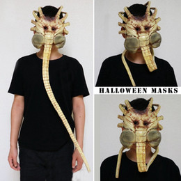 $enCountryForm.capitalKeyWord Australia - Worm Garage Kits Halloween Mask 1 1 Alien Contract Worm Model Face New Shopping Mall Hot Selling