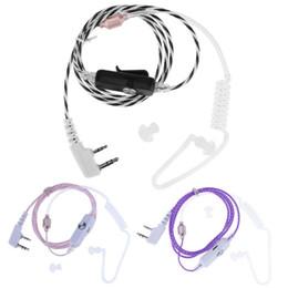 Auricolare aria del tubo ricevitore telefonico acustico segreto del tubo MIC auricolare per Walkie Talkie in Offerta