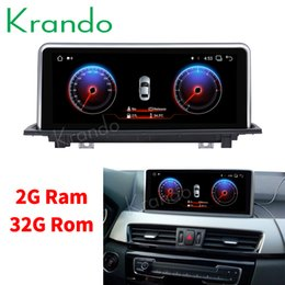bmw player NZ - Krando Android 8.1 10.25'' car navigation system for BMW X1 E84 EVO 2018 car audio multimedia radio player GPS Bluetooth car dvd