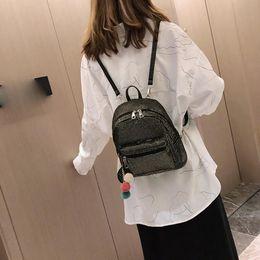 plaid backpacks 2019 - Plaid Female Backpack Luxury Mini Rucksack Women Backpack Simple Backpacks For School Teenagers Girls Fashion School Bag