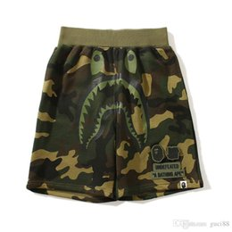 Justin bieber sale online shopping - New Summer Shark Printing Ape Pants Cooperative Casual Shorts Justin Bieber Men s Casual Beach Pants Fear of God Trousers Cheap Sale