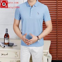 $enCountryForm.capitalKeyWord NZ - mens t shirts Brand fashion Business mens lapel Cotton shirt tracksuit polo shirt male M-3XL High quality short-sleeved men s clothing N83