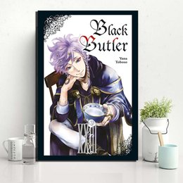 $enCountryForm.capitalKeyWord Australia - Black Butler Anime Canvas Modern Comic Painting Oil Print Poster Wall Art HD Picture For Living Room Home Decoration