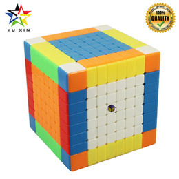 $enCountryForm.capitalKeyWord Australia - 2019 YUXIN Speed Cube 8x8x8 Competition 88mm Magic Cube Magnetic Twist Puzzle Toys For Children Gift Puzzle Cubes Cubo Magico