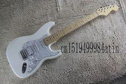 $enCountryForm.capitalKeyWord NZ - Hardcase high quality rosewood fingerboard 6 string strat White pearl guard electric guitar