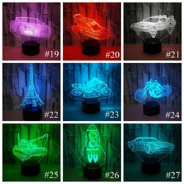 $enCountryForm.capitalKeyWord NZ - Haoxin Stitch Cartoon 3D Lamp Bedroom Table Night Light Acrylic Panel USB Cable 7 Colors Change Touch Base Lamp Kids Gift