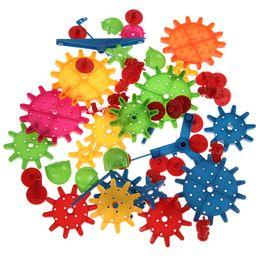 Kids Blocks Wholesale Australia - 81Pcs Building Blocks Children's Plastic DIY Blocks Toy Kids Educational Toy Assemblage Colorful Model Building Kit