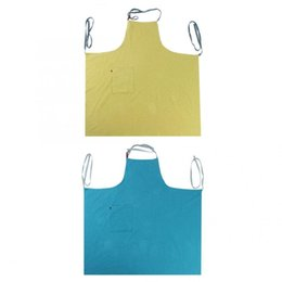 Home Aprons UK - Aprons Men Lady Woman Sleeveless Aprons Home Kitchen Restaurant Cooking with Pockets Garden Working accessories