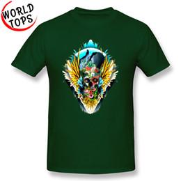 1247f5d3d mens designer clothes brand polo Mexico Flower Skull 3D T Shirts Mens  Summer Popular Cotton Tops T Shirts Big Size 3XL Snapbacks