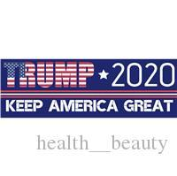 Car body deCal stiCker design online shopping - 2020 New design Trump Car Stickers Bumper Sticker Keep Make America Great Decal for Car Styling Vehicle Paster cm WX9