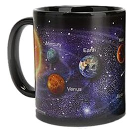 $enCountryForm.capitalKeyWord Australia - Newest Style Ceramic Cups Changing Color Mug Milk Coffee Mugs Friends Gifts Student Breakfast Cup Star Solar System Mugs