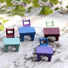 $enCountryForm.capitalKeyWord Australia - Mini 1pc Landscape Plant Miniatures Decors Fairy Resin Garden Ornaments Cute Tables Chairs Furniture Figurine Crafts