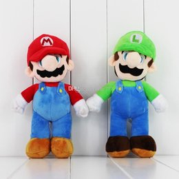 25CM Super Mario Bros Kawaii Pillow Plush Toy cushion Mario Luigi COOKY CHIMMY SHOOKY KOYA RJ MANG Gift For Children from flowers for wedding car decoration manufacturers