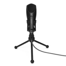 recording laptop 2019 - FULL-Q3B Microphone USB Port for High Quality Professional Microphone Condenser Recording for Skype PC Mac Laptop Video