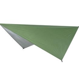 $enCountryForm.capitalKeyWord UK - Ultralight Tarp Outdoor Camping Survival Sun Shelter Shade Awning Silver Coating Pergola Waterproof Beach Tent-Green