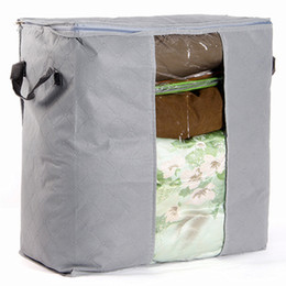 Foldable Storage Bag Clothes Blanket Quilt Closet Sweater Organizer Box Pouch Storage Box Hot Sale High Quality 2019 New Pattern Foldable Storage Bags Clothing & Wardrobe Storage
