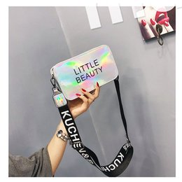 minimalist handbags 2019 - Bags For Women 2019 Minimalist Women Messenger Bag England Style Microfiber Synthetic Leather Zipper Silver Flap Handbag