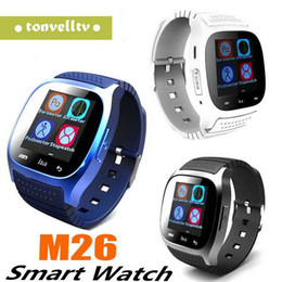 $enCountryForm.capitalKeyWord NZ - Cheap M26 Bluetooth Smart Watches M26 for iPhone 6 6S Samsung S5 S4 Note 3 HTC Android Phone Smartwatch for Men Women Factory Price