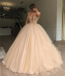 dresses 15 anos UK - Luxury Gold Sequined Sweet 16 Quinceanera Dresses 2020 Ball Gown Beaded Debutante Masquerade Vestidos De 15 Anos