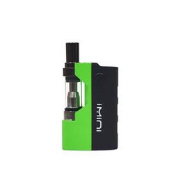 X5 Glasses Australia - Authentic Imini Thick Oil Vape Carteidge Start Kit 500mAh Preheat Battery Fit For Liberty Atomizer X5 X6 V1 V5 V9 DHL Free Shipping