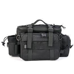 $enCountryForm.capitalKeyWord Australia - 40*17*20cm Multifunctional Fishing Bag Men Women Waterproof Outdoor Waist Shoulder Bag Case Reel Lure Storage Fishing Tackle #234394
