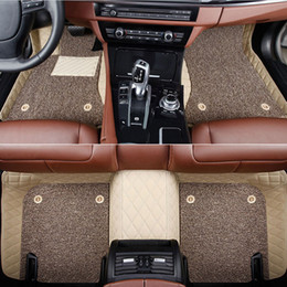 honda fit car accessories 2019 - Car floor mats Custom fit Honda CRZ cr-vURV XRV HRV Accord 2003 Civic City Vezel Crosstour carpet floor liner Car access