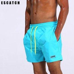 3823bb2dbd Brand Sport Running Short Man Swim Trunks Nylon Men Solid Surfing Swimming  Boxer Plus Size Mens Quick Dry Beach Swimsuit Shorts