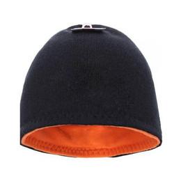 Reversible Beanie NZ - Unisex THE NF Winter Beanies Reversible Knitted Hats Fleece Skull Cap Double-Sided Wear Hat Beanies Men Women Warm Caps