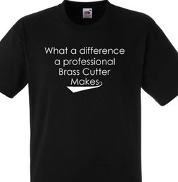 Black Cutters Australia - WHAT A DIFFERENCE A PROFESSIONAL BRASS CUTTER MAKES T SHIRT GIFT