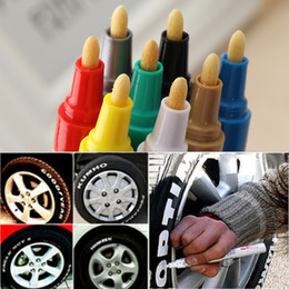 $enCountryForm.capitalKeyWord NZ - 1PC Colorful Universal Waterproof Permanent Motorcycle Car Tyre Tread Paint Marker Pen Hand Tools
