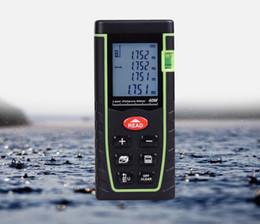 Distance Measure Lcd Australia - 7-Key 40M Digital LCD Laser Distance Meter Range Finder Measure Diastimeter BI529