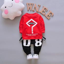 $enCountryForm.capitalKeyWord NZ - Baby Boy Clothing Set 2017 Spring Korean Striped Long Sleeved Shirts + Jeans Newborn Baby Girl Clothes Kids Bebes Jogging Suits