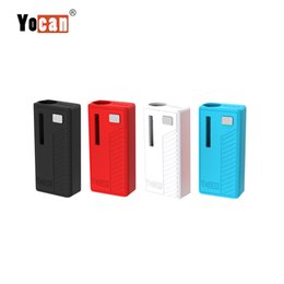 $enCountryForm.capitalKeyWord UK - Yocan Rega Battery Mod 320mAh Box Mod Variable Voltage With Micro USB Cable Fit 510 Threading Oil Atomizers