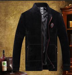 Discount mens thick fur coats - Mens Imitation Water Mane Fur Autumn Winter Warm Faux Fur Fashion Designer Mens Outdoor Stand Collar Coat