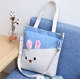 Canvas Prints Free Shipping Australia - Creative Shopping Canvas Storage Bags Women Printed Handbags Reusable Shopping Bags Folding Grocery Eco Tote Bags Free Shipping