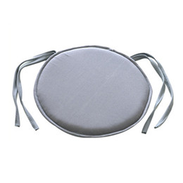 $enCountryForm.capitalKeyWord UK - 38cm x 38cm Simple Style Portable Indoor Dining Garden Patio Home Office Kitchen Round Chair Seat Pads Cushion with Four Ties