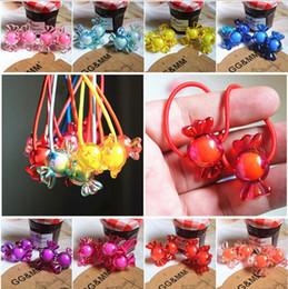 Discount beautiful rings new style - New Arrival styling tools Fantasy Rainbow Candy Hair ring accessories make you Beautiful used by women young girl and ch