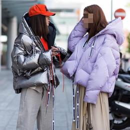 Womens Parkas Australia - GETSRING Womens Down Jackets Hooded Thickened Down Coats Women Parkas Short Loose Winter Jackets All Match Woman Winter Coat New