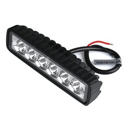 car led spotlight bar Australia - 18W LED Light Work Bar Lamp Driving Fog Offroad SUV 4WD Car Boat Truck Work Light Roof Spotlight # Z