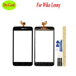 $enCountryForm.capitalKeyWord NZ - 5.0'' For Wiko Lenny Touch Panel High Quality Repair Parts Touch Screen Digitizer Glass For Wiko Lenny Cell Phone with Tools