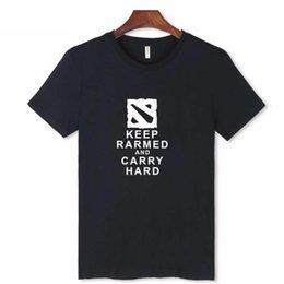 $enCountryForm.capitalKeyWord NZ - 2019 Hot Sale Game Dota 2 T-shirt Men women White Short Sleeve Summer Men's T-shirt Funny Streetwear Cotton Top Clothes