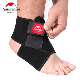 $enCountryForm.capitalKeyWord Australia - Naturehike Black Adjustable Ankle Support Pad Protection Elastic Brace Guard Support Ball Games Running Safety Gym Fitness 1Pcs #668391