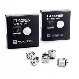 Wholesale Authentic Vaporesso GT4 Mesh Coil ecigarette NRG Atomizer Replacement Coil 100% GT Coils us warehouse