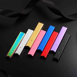 Venta al por mayor de El más reciente batería de 250 mAh que fuma Ultra portátil Vape Pen Starter Kit con 4 Pods Para juul Vapor Pod Kits de vaporizador de cartucho