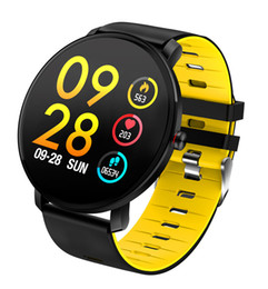 Smart Watch Grey Phone Australia - K9 1.3 inch color screen smart watch metal appearance heart rate blood pressure monitoring touch call reminder smart sports watch waterproof