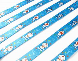 $enCountryForm.capitalKeyWord Canada - 20 PCS Doraemon key lanyards id badge holder keychain straps for mobile phone Free Shipping