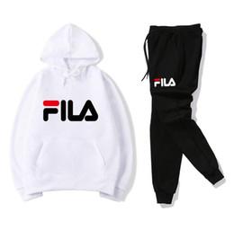 Male Fashion Suits Australia - 2019 Fashion Designer Mens Letter Prints Tracksuits Men's Hooded hoodies Brand Sweatshirt +pants Male Tennis sport Suits Mens Clothing